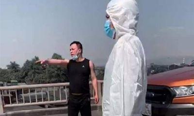 Quảng Ninh: Tài xế đấm CSGT chảy máu mũi vì không được đi qua chốt kiểm dịch