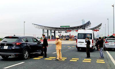 Quảng Ninh tiếp tục tạm dừng hoạt động vận tải khách liên tỉnh từ 6h ngày 8/2