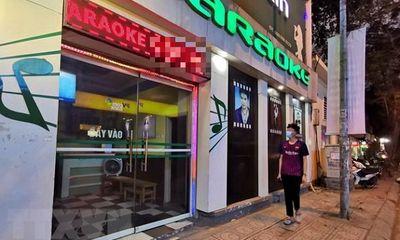 TP.HCM: Đóng cửa quán karaoke, massage, rạp chiếu phim, quán nhậu từ 12h ngày 9/2