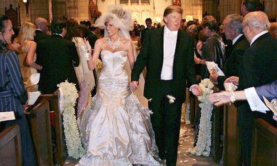 Cận cảnh hôn lễ xa hoa không kém gì hoàng gia của vợ chồng cựu Tổng thống Trump