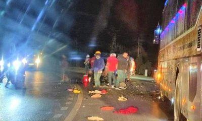 Tin tai nạn giao thông ngày 11/2: Xe máy tông trực diện, 2 người chết