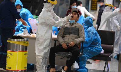 Toàn bộ 10.000 cán bộ, nhân viên sân bay Nội Bài đã được lấy mẫu xét nghiệm COVID-19