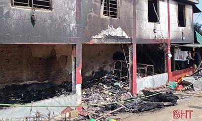 Cháy nhà dân sáng mùng 1 Tết, bé trai 10 tuổi tử vong thương tâm
