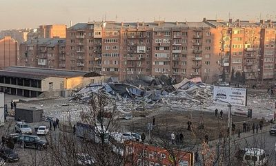 Nga: Nổ lớn làm sập một siêu thị, nhiều người bị thương