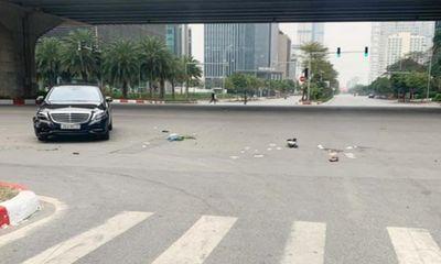 Tin tai nạn giao thông ngày 13/2: Mercedes tông xe máy, 1 người nguy kịch