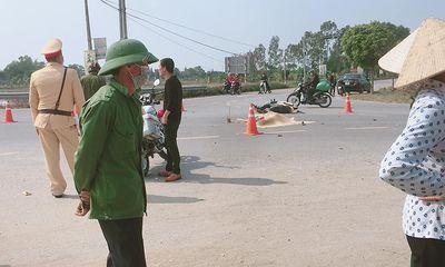 Tin tai nạn giao thông ngày 14/2: Xe máy va chạm với ô tô, 1 người tử vong ở Hưng Yên
