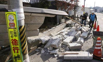 Nhật Bản: Động đất vẫn còn dư chấn mạnh, hơn 100 người bị thương