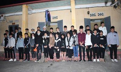 Vượt chốt kiểm soát dịch từ Hải Dương vào Hải Phòng, 34 thanh niên bị tạm giữ