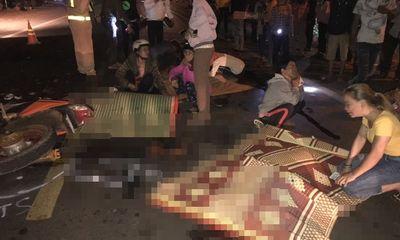 Tai nạn giao thông thảm khốc vào đêm mùng 3 Tết, 4 người tử vong thương tâm