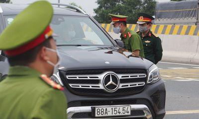 Hải Dương giãn cách xã hội, xe từ Quảng Ninh, Hải Phòng về Hà Nội đi như thế nào?