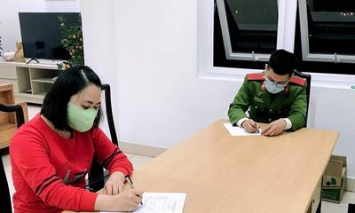 Xử phạt, cưỡng chế cách ly với hai đối tượng vượt sông từ Hải Dương vào thị xã Đông Triều