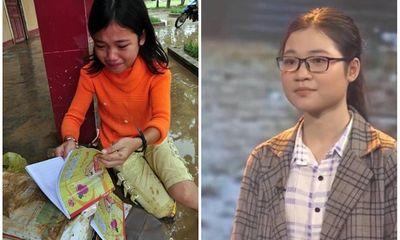 Cô bé khóc nức nở vì sách vở ướt nhẹp sau 10 năm: Ra dáng thiếu nữ xinh đẹp, trở thành sinh viên trường y