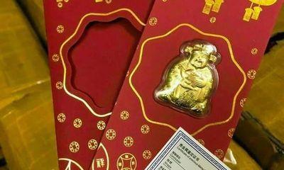 Linh vật trâu mạ vàng, Thần tài bên Tàu giá siêu rẻ tràn sang chợ Việt