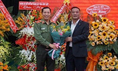 Thăng hàm Thiếu tướng cho Giám đốc Công an tỉnh Đắk Lắk
