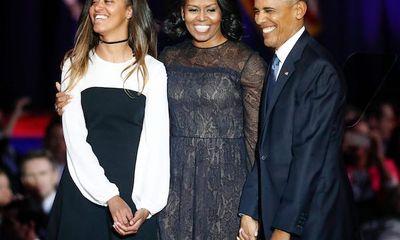 Tiết lộ công việc mới của ái nữ đầu lòng nhà cựu Tổng thống Obama
