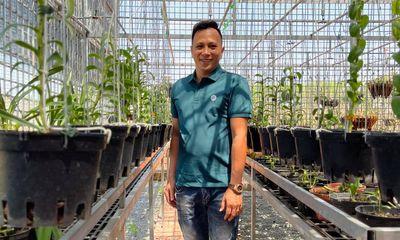 Ông chủ vườn lan Hạo Hạo và hành trình vượt lên thất bại từ hoa lan