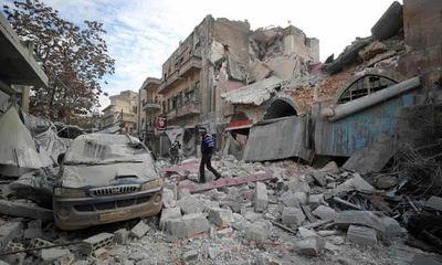 Chiến sự Syria: Nga dồn dập