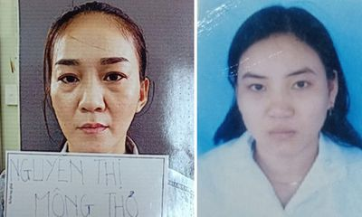 2 chị em Nguyễn Thị Mộng Thơ và Nguyễn Thị Xuân Hiền bị truy nã tội gì?