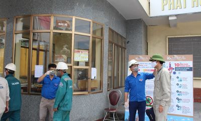 Công ty Xi măng Vicem Hoàng Thạch nỗ lực, đoàn kết vượt qua đại dịch Covid-19