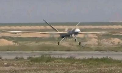 Nga công bố video tiêm kích không người lái Orion không kích phiến quân Syria