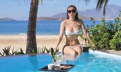 MC nóng bỏng nhất nhì VTV khoe vóc dáng đẹp khó cưỡng ở tuổi 33