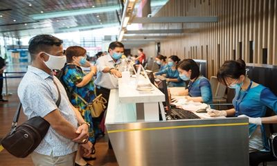 Sân bay Vân Đồn mở cửa trở lại từ ngày 3/3, nâng mức độ an toàn phòng dịch COVID-19
