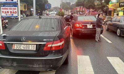 Vụ 2 xe sang Mercedes Benz trùng biển số