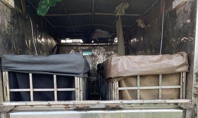 Hải Dương: Phát hiện tài xế xe tải giấu 2 phụ nữ trong thùng xe nhằm trốn khai báo y tế
