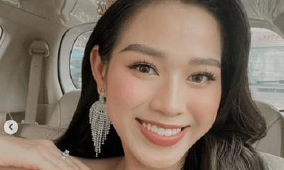 Hoa hậu Đỗ Thị Hà sắm nhẫn kim cương