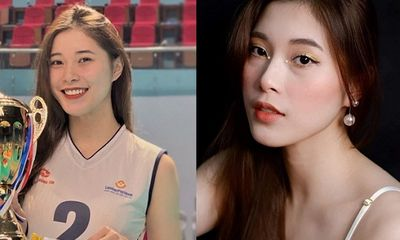 Người đẹp bóng chuyền Đặng Thu Huyền giải nghệ ở tuổi 19 khiến người hâm mộ tiếc nuối