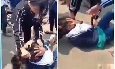 Vụ nữ sinh bị quay clip đánh hội đồng: Sở GD&ĐT Hà Nội yêu cầu xử lý nghiêm