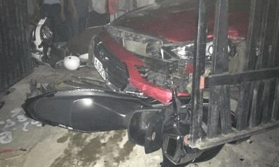 Say rượu lái ô tô, nam tài xế gây tai nạn liên hoàn khiến một người tử vong