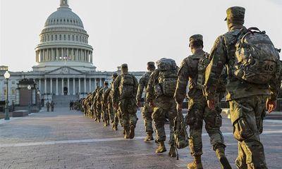 Hàng ngàn vệ binh Quốc gia Mỹ tiếp tục bảo vệ Đồi Capitol đến tháng 5