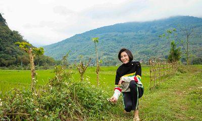 Du xuân ở Pu Luông, Thanh Mai xúc động nhờ về tuổi thơ qua điều đặc biệt này!