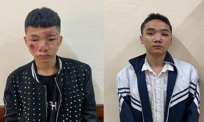 """Khởi tố 2 thanh niên """"thông chốt"""" tông gãy tay chân CSGT ở Vĩnh Phúc"""