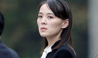 Em gái ông Kim Jong-un cảnh cáo chính quyền Tổng thống Biden