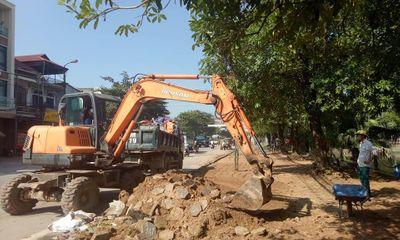 Lục Ngạn đẩy mạnh chỉnh trang đô thị hướng đến hoàn thiện hạ tầng