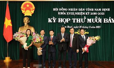 2 Phó Chủ tịch UBND tỉnh Nam Định vừa được bầu là ai?