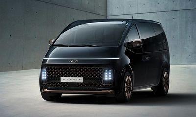 Huyndai ra mắt mẫu MPV Staria ngập tràn công nghệ, đối thủ ngang tầm với Kia Sedona