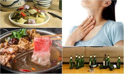 3 thói quen ăn uống tưởng vô hại nhưng tiềm ẩn nguy cơ mắc ung thư thực quản cực nhanh