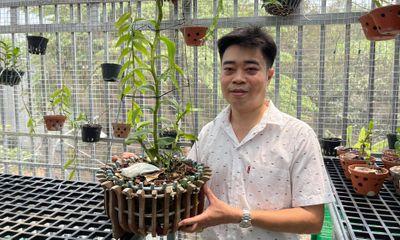 Ông chủ vườn lan 8X Nguyễn Hữu Tân và mơ ước về một vườn lan trăm loài