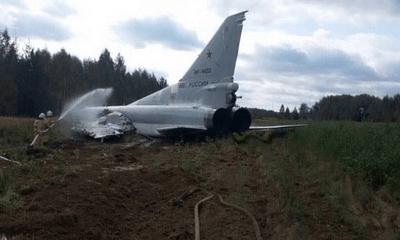 Bị ghế phóng đẩy khỏi tiêm kích, 3 phi công Nga tử vong