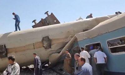 Tàu hỏa đâm nhau ở Ai Cập, ít nhất 32 người thiệt mạng