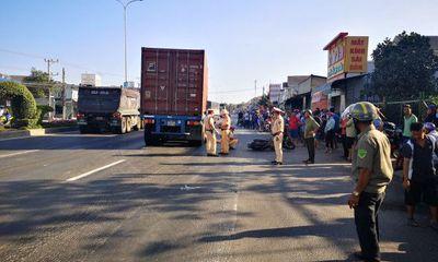 Tin tai nạn giao thông ngày 27/3/2021: Bé gái bị container cán tử vong trên quốc lộ