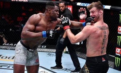 Ngannou phục hận, đả bại Miocic ở trận tranh chức vô địch UFC