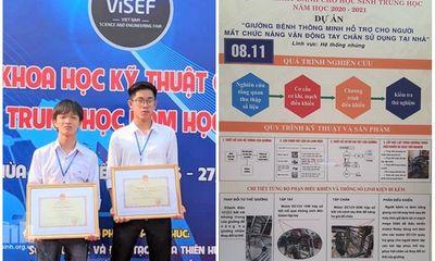 Giải Nhất cuộc thi sáng chế gây xôn xao: Lãnh đạo sở GD&ĐT Ninh Bình nói gì?