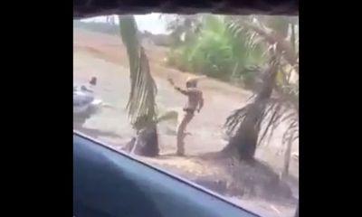 Tình tiết mới vụ clip CSGT đánh người túi bụi tại bãi đất trống
