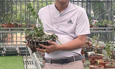 Nghệ nhân Nguyễn Tuấn Trung: Chàng trai 8x với tình yêu hoa lan và hành trình thiện nguyện