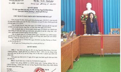 Vụ 2 chủ tịch phường sử dụng chất kích thích trong homestay: Cá biệt, chưa từng xảy ra ở Đà Lạt