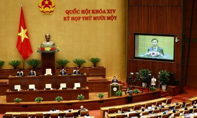 Hôm nay, Quốc hội miễn nhiệm Chủ tịch nước